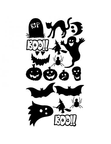 Foglio Halloween - Adesivi Prespaziati