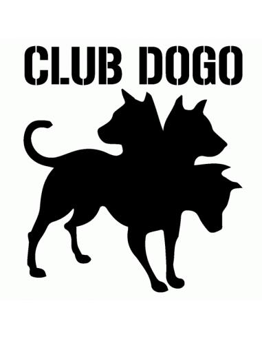 Club Dogo Logo 1 - Adesivo Prespaziato