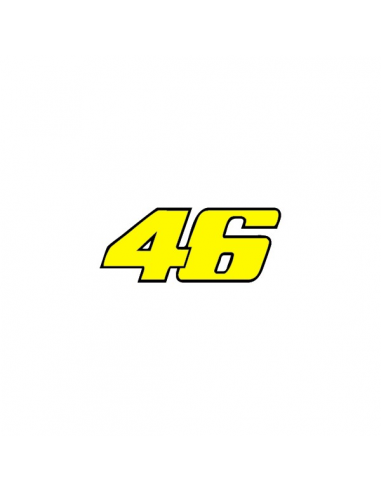 Valentino Rossi 46 - Adesivo Prespaziato