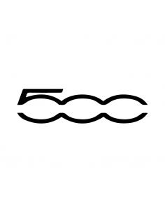 Logo Fiat 500 - Adesivo Prespaziato