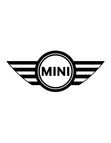 Mini Cooper Logo Stile 1 - Adesivo Prespaziato