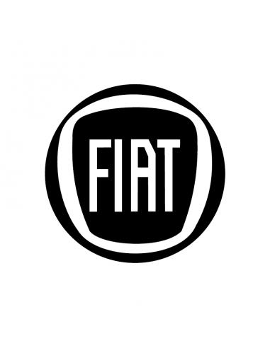 Logo Fiat - Adesivo Prespaziato