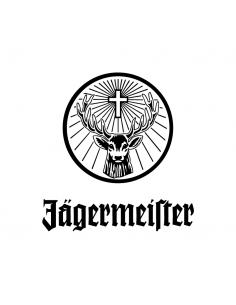 Jagermeister Logo - Adesivo Prespaziato