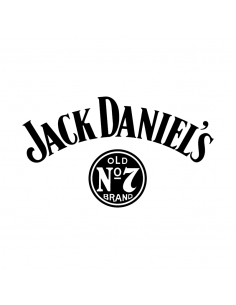 Jack Daniel's Logo - Adesivo Prespaziato