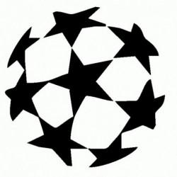 UEFA Champions League - Adesivo Prespaziato