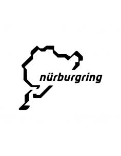 Logo Pista Nürburgring - Adesivo Prespaziato