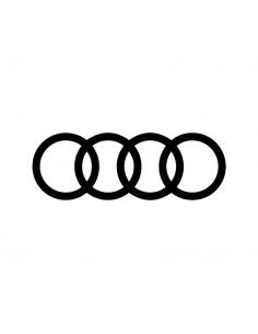 Audi Logo Ripieno - Adesivo Prespaziato