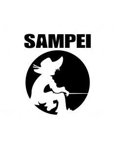 Sampei - Adesivo Prespaziato