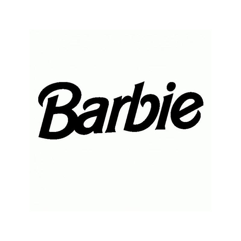 Barbie - Adesivo Prespaziato