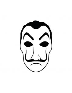 Maschera Dalì - Adesivo...