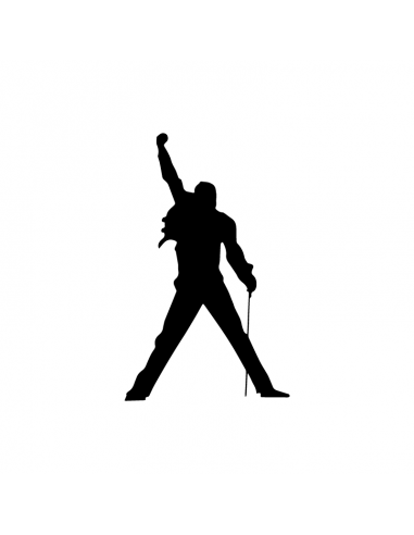 Freddie Mercury Queen - Adesivo...
