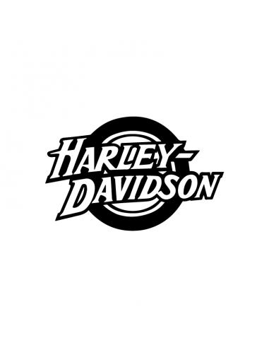 Harley Davidson Ruota - Adesivo Prespaziato