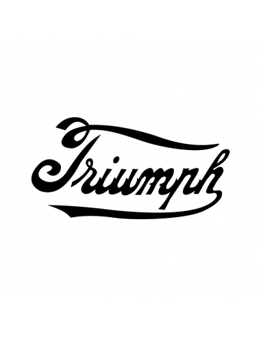 Triumph Logo 1 - Adesivo Prespaziato