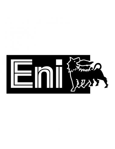 ENI Logo - Adesivo Prespaziato