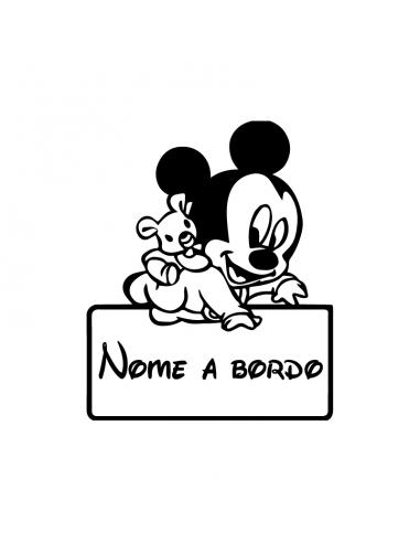 Bimbo a Bordo Nome Personalizzato...