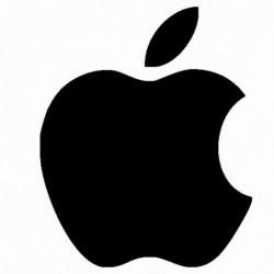 Apple - Adesivo Prespaziato