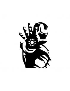 Iron Man - Adesivo Prespaziato