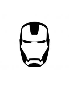 Faccia Iron Man - Adesivo...