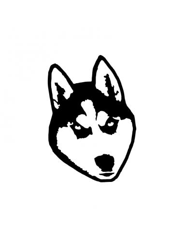 Husky - Adesivo Prespaziato