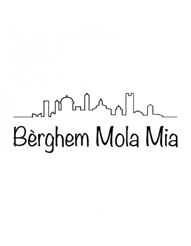 Berghem Mola Mia - Adesivo Prespaziato