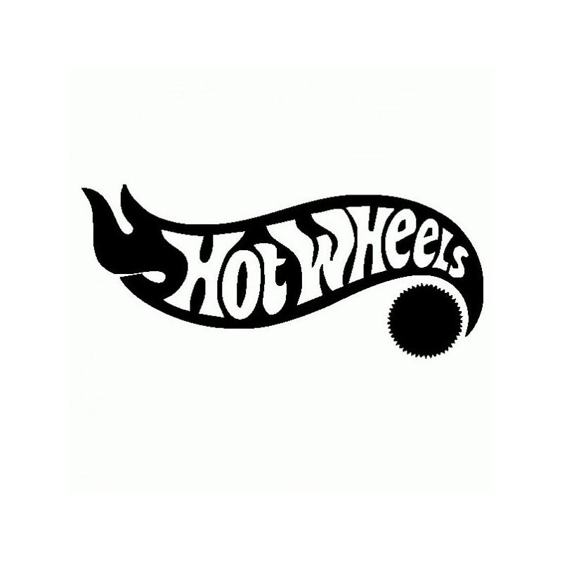 Hot Wheels - Adesivo Prespaziato