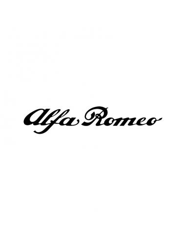 Alfa Romeo Scritta - Adesivo Prespaziato