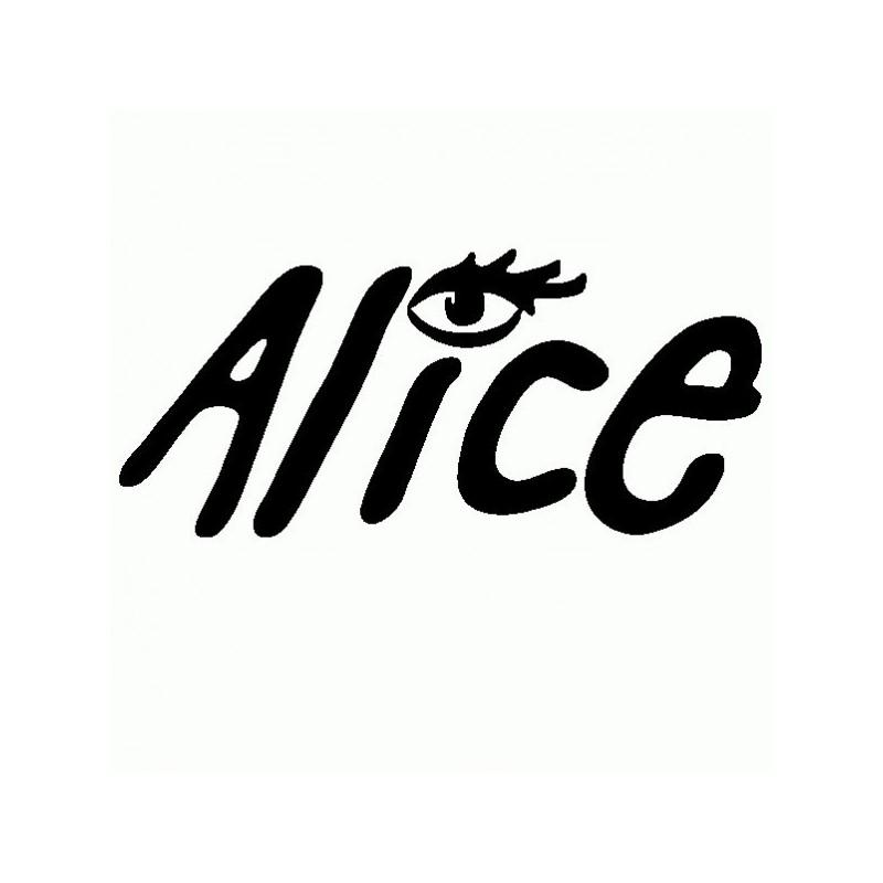 Alice - Adesivo Prespaziato