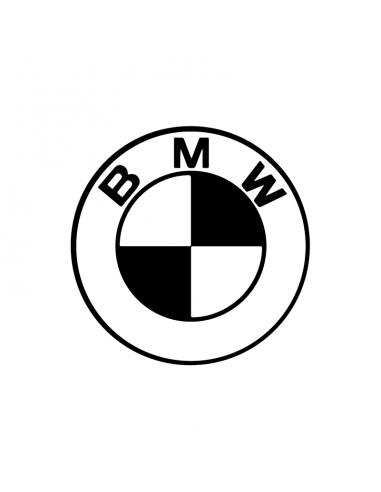 Logo BMW 1 - Adesivo Prespaziato
