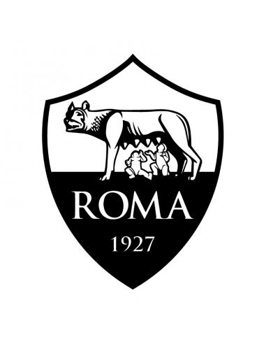 AS Roma 25cm - Adesivo Prespaziato