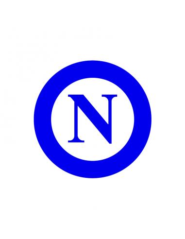 Napoli - Adesivo Prespaziato