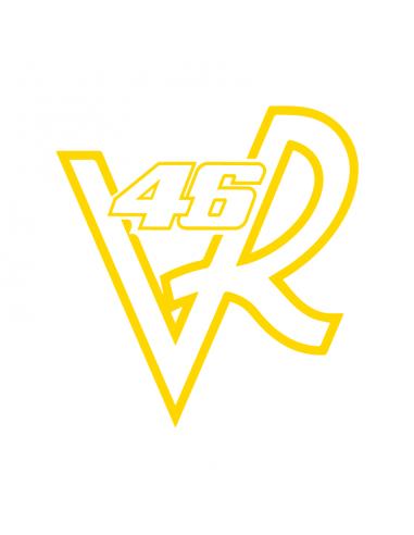 VR46 Valentino Rossi - Adesivo Prespaziato