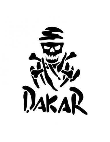 Dakar Pirata - Adesivo Prespaziato