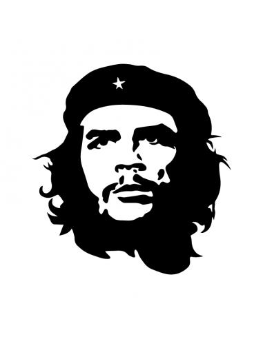 Che Guevara - Adesivo Prespaziato