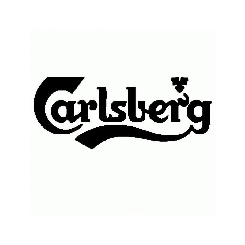Carlsberg - Adesivo Prespaziato