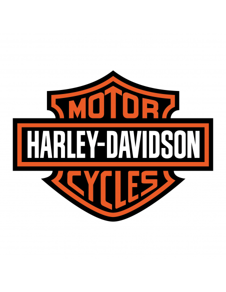 Harley Davidson 3 Colori - Adesivo Prespaziato