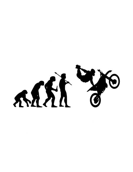 Evoluzione Motocross - Adesivo Prespaziato