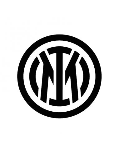 Inter Logo - Adesivo Prespaziato
