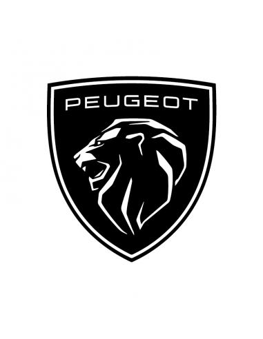Peugeot Nuovo Logo - Adesivo Prespaziato