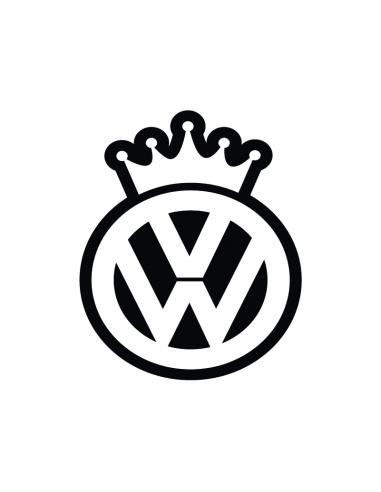Volkswagen King - Adesivo Prespaziato