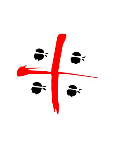 4 Mori Sardegna - Adesivo Prespaziato