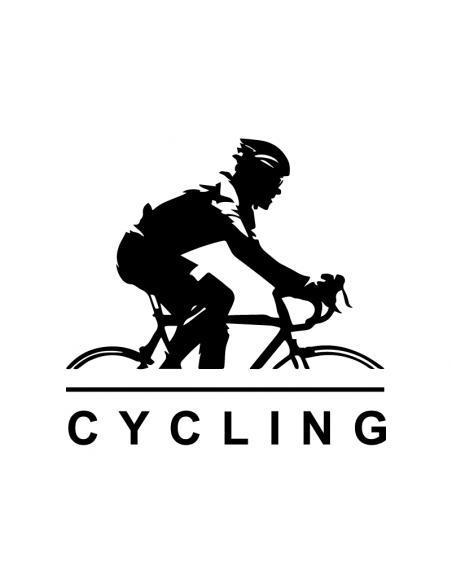 Ciclista Cycling - Adesivo Prespaziato