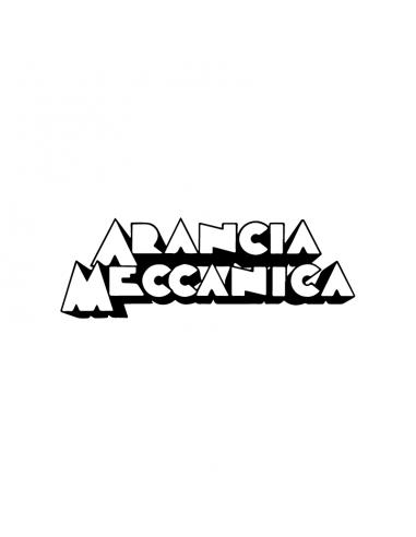 Arancia Meccanica Scritta - Adesivo...