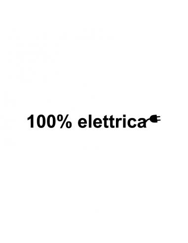 100% Elettrica - Adesivo Prespaziato