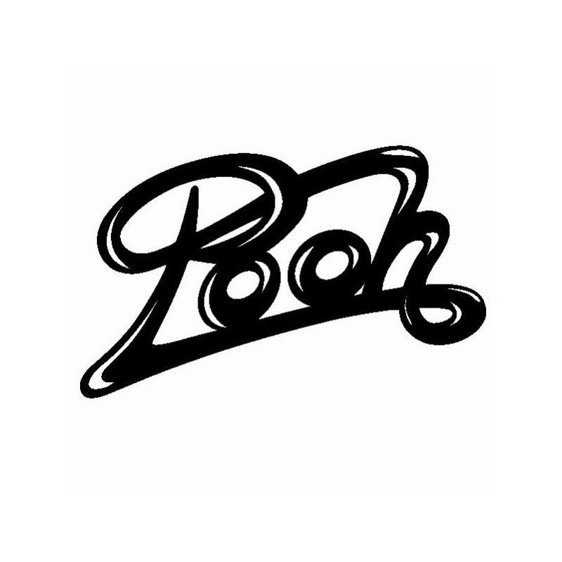 Pooh - Adesivo Prespaziato