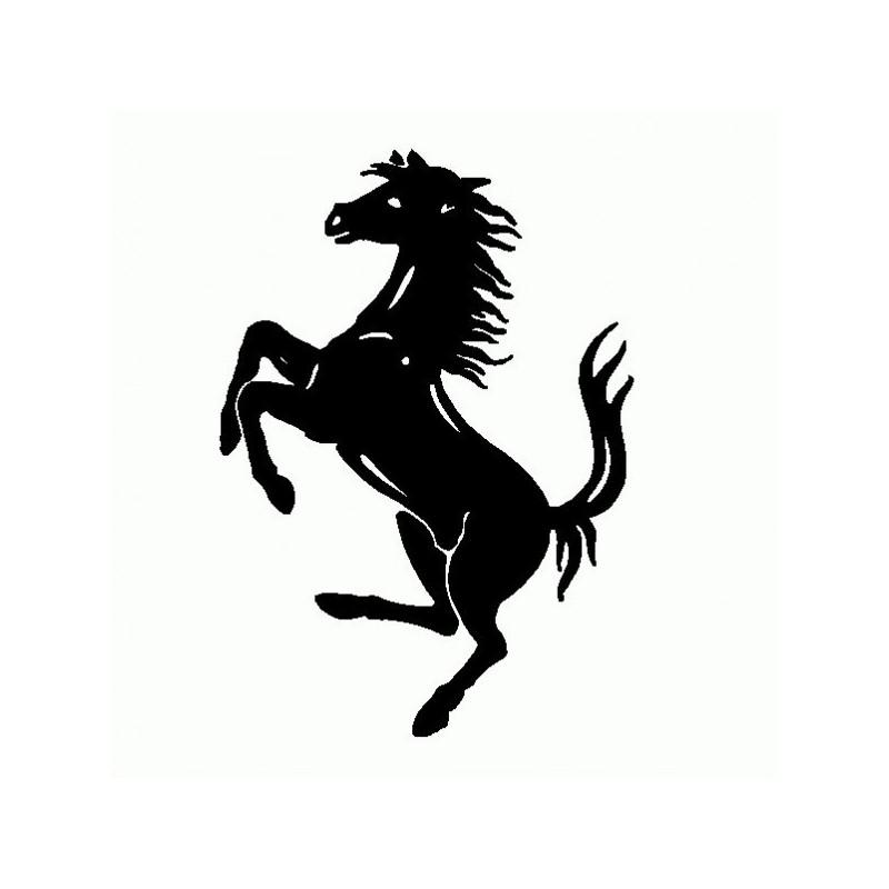 Cavallo Ferrari - Adesivo Prespaziato