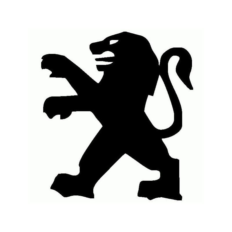 Peugeot Logo - Adesivo Prespaziato