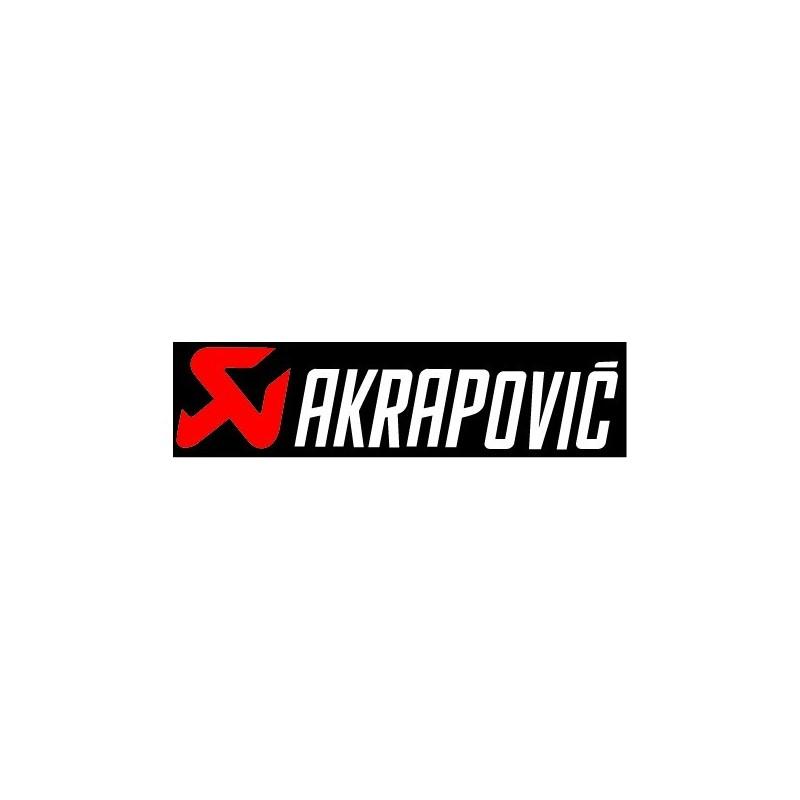 Akrapovic - Adesivo Prespaziato