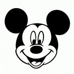 Topolino 2 - Adesivo Prespaziato - Disney