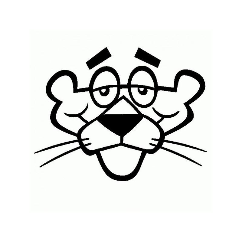 Pantera Rosa - Adesivo Prespaziato - Pink Panther