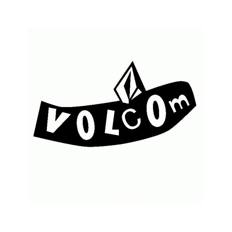 Volcom - Adesivo Prespaziato